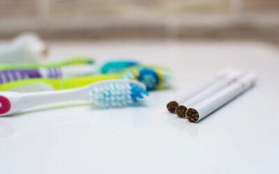 ¿Cuál es el efecto del tabaco sobre los dientes?