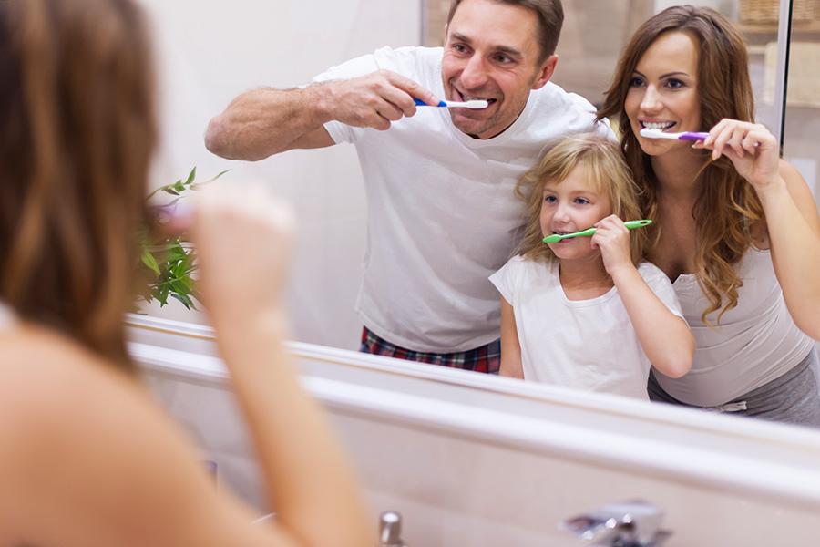 Limpiar cepillo con agua oxigenada